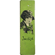 Vintage 1920s Jackie Coogan Metal School Pencil Box!