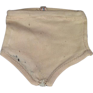 Vintage French 1946 Authentic BLEUETTE Tagged Valisere Doll Panties!