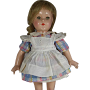 Effanbee Compo Anne Shirley Doll Orig Dress and Pinafore!