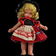 "Nancy Ann Storybook Doll ""To Market, To Market""  Vintage NASB"