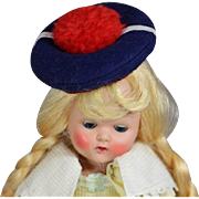 Vintage Darling Small French Sailor Doll Hat !