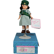 1991 Madame Alexander SCOUTING Doll - Girl Scout - MINT!
