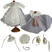 1955 Vogue Ginny Doll Bride Bridal Outfit!  Very Nice and Complete!