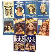10 Jan Foulke Doll Blue Books Price Guides - 2nd Edition through 11th