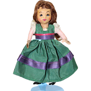Sweet Little 1940s Alma La Blanc TINY TOWN Doll!