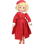 "Fabulous Blonde Bombshell!  c1956 Uneeda 20"" Teen Fashion Doll - Fits Cissy Clothes!"