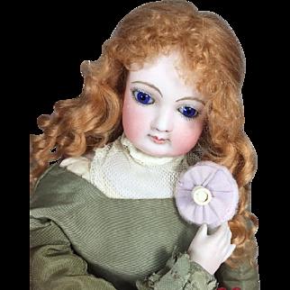 Paris Find! Vintage Mini Powder Puff for French Fashion Doll!