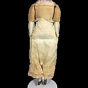 Antique German China Doll Body w Original Pantaloons!
