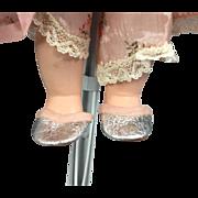 1950s Arranbee Littlest Angel Doll Original Slippers To Pajama Set