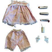 Vintage Ideal Tammy Doll SLEEPYTIME Outfit - Near Complete
