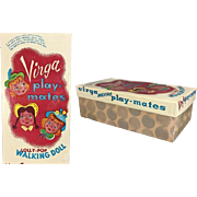 "1950s Orig Box for Virga Lollipop 8"" Doll!  Maize (Yellow) Hair"
