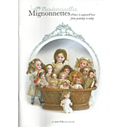 NEW French Doll Book! Mesdemoiselles Mignonnettes!