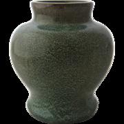Early California Faience Pottery Vase Arts & Crafts Era