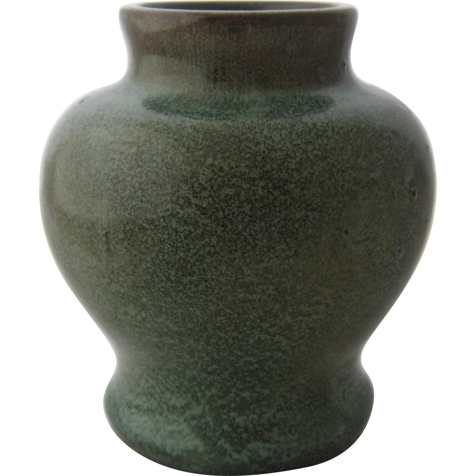 Early california faience pottery vase arts crafts era early california faience pottery vase arts crafts era mendocino vintage ruby lane reviewsmspy