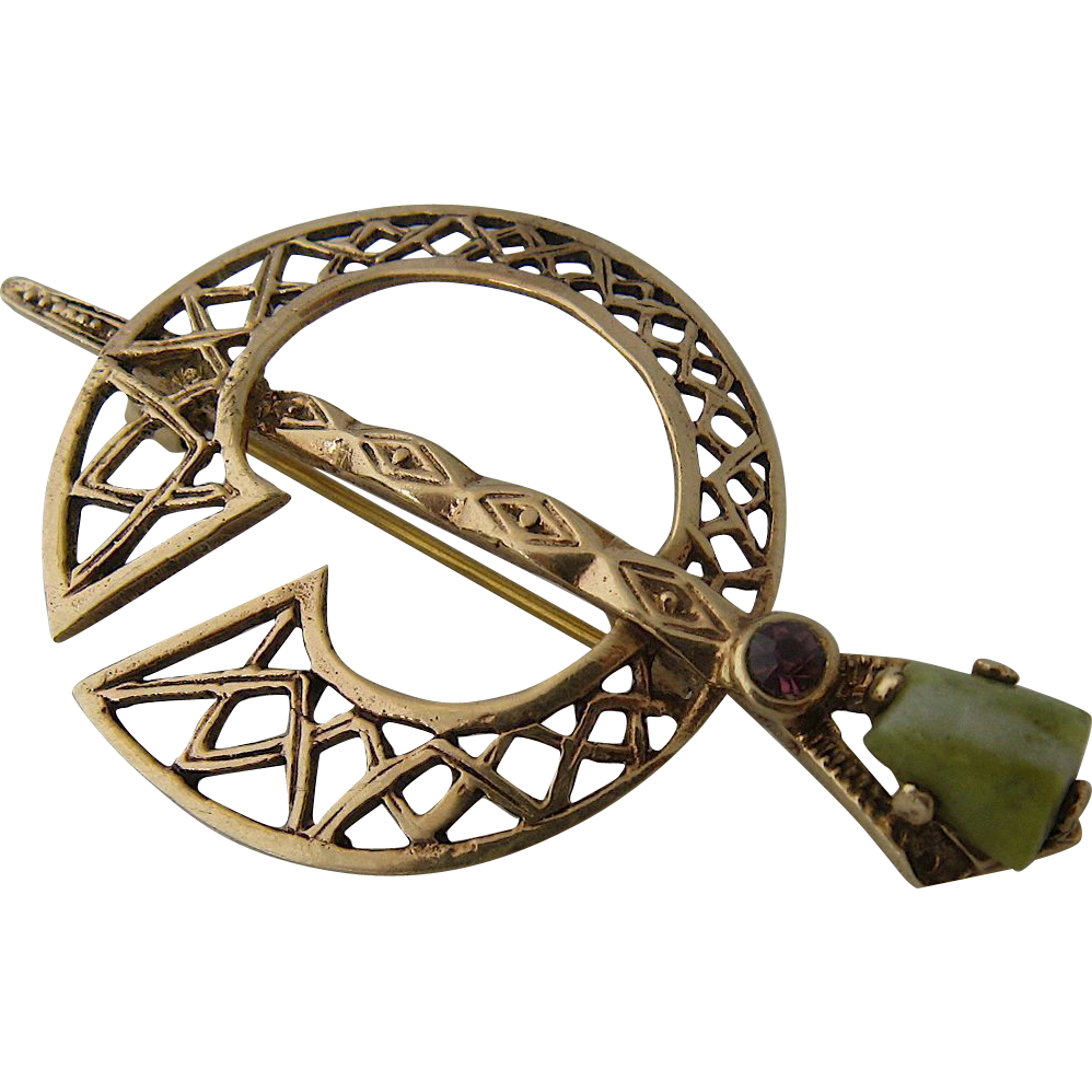 iron com celtic brooches brooch smithy viking wulflund works decorated