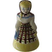 "1950s California Cleminsons Figural ""Kleanser Kate"" Cleaning Powder Shaker"