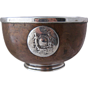1931 Ranelagh Copper Silver Bowl Lawn Tennis Trophy Ireland