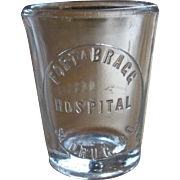 Ca 1900 Fort Bragg Hospital & Drug Co. Dose Cup