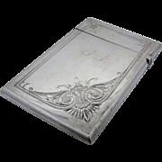 1876 Gorham Sterling Calling Card Case Biz Card Size