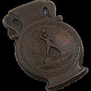 Greek Rhodes Bronze Plated Paper Clip