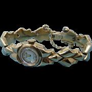 1960s Gruen Precision 14K Gold Watch & Bracelet Wind-up Ladies in Case - Red Tag Sale Item