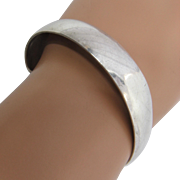 S. Kirk & Son Plain Sterling Silver Cuff Bracelet