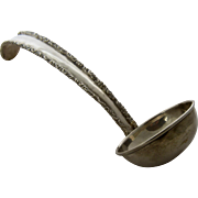 Mexican Sterling Silver Punch Ladle by MERJ Mexico City 1960s-70s