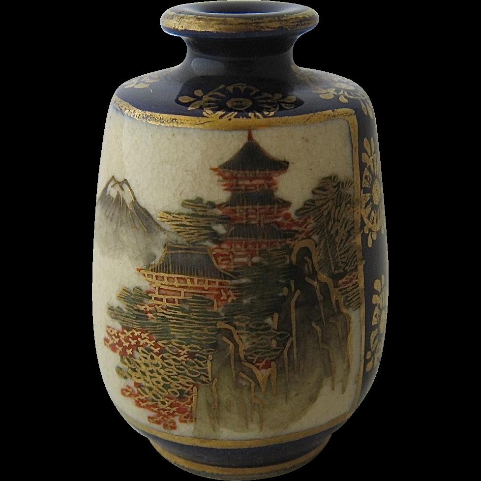 2 best of satsuma vase home idea miniature japanese satsuma vase hp cobalt gilt signed from reviewsmspy