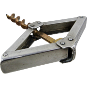 1940s Napier Sterling Corkscrew Folding Pocket Wine Opener