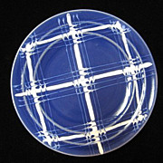 1930's Pacific Pottery Decorated ware Hostess bread & butter plates