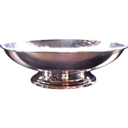 Mid 1900s Preisner Sterling Footed Bowl Paul Revere Style