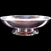 Mid 1900s Preisner Sterling Footed Bowl Paul Revere Style