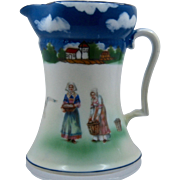 Royal Bayreuth Brittany Women Porcelain Creamer