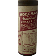 Ca 1950 Hodgman No. 313 Repair Kit Fishing Boots Equipment
