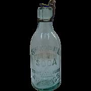 1890s Samuel Soda Springs Bottle Mineral Water Napa County