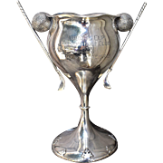 1939 Shreve Sterling Presidio Golf Club Trophy Fourteenth Century