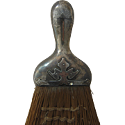 1910 Shreve & Co 14th Century Sterling Handled Whisk Broom