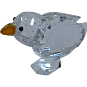 Retired Swarovski Crystal Baby Bird Chick Figurine