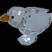 Retired Swarovski Crystal Baby Bird Chick Figurine