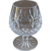 Waterford Lismore Brandy Balloon Snifter Cut Crystal