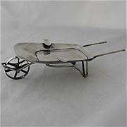Sterling Wheelbarrow Ashtray Mexico 1920s-40s