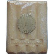 Lucien Lelong Tailspin Vintage Bar Soap Sealed Cellophane
