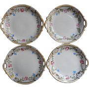 Nippon Butter Pats China Nut Dishes Vintage 1910s to 1920s