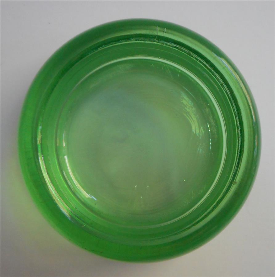 Depression Era Glass Furniture Coasters Vintage Green Hazel Atlas Set Sold On Ruby Lane