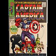CAPTAIN AMERICA  100 Vintage Silver Age Classic Marvel Comic