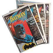 BATMAN A Death in the Family 426 427 428 429 Vintage Copper Age Classic DC Comics
