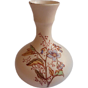 Tiny Antique Vase Decorated Like Royal Worcester China European