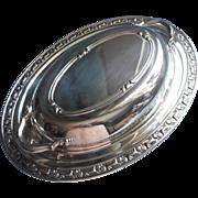 Park Lane Oneida Vintage Silver Covered Serving Dish Unused Original Label