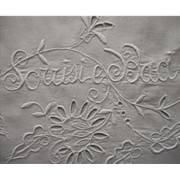 1920s Italian Wedding Pillowcases Smiles And Kisses Vintage Cutwork