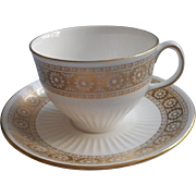 Wedgwood Marguerite Cup Saucer Vintage Bone China